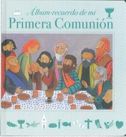 ALBUM RECUERDO DE MI PRIMERA COMUNION MODELO C